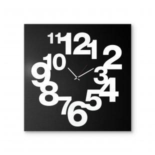 Minimal: modern, big wall clock. Italian Design