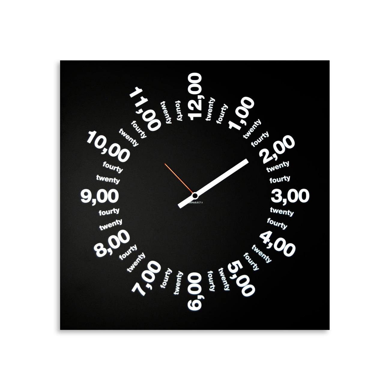 Only Hours Orologio da Parete di Design