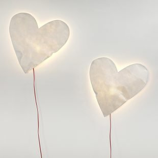 Heart Lamp Design