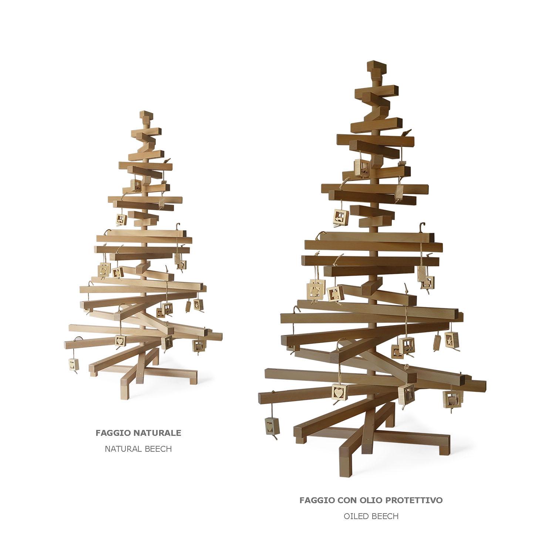 Albero Natale Legno.Alberi Di Natale Design Designobject