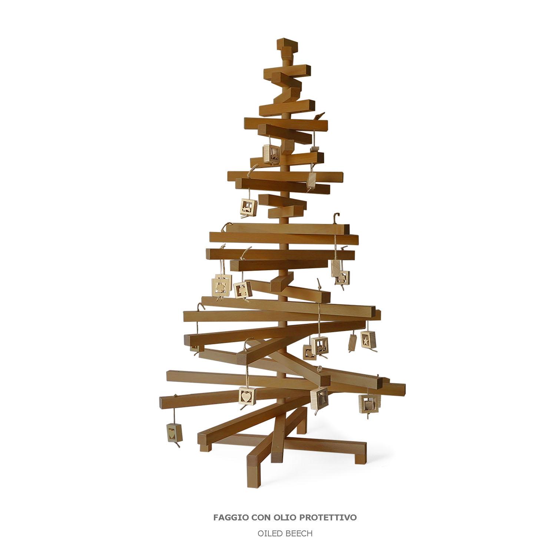 Albero Di Natale In Legno.Alberi Di Natale Design Designobject