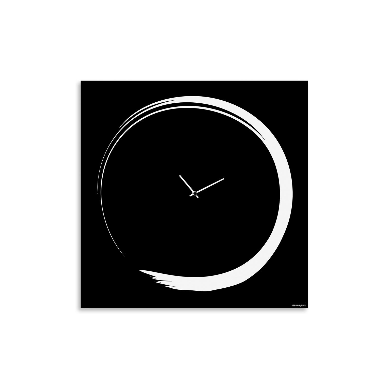 S enso modern big wall clock italian design designobject - Orologio design parete ...