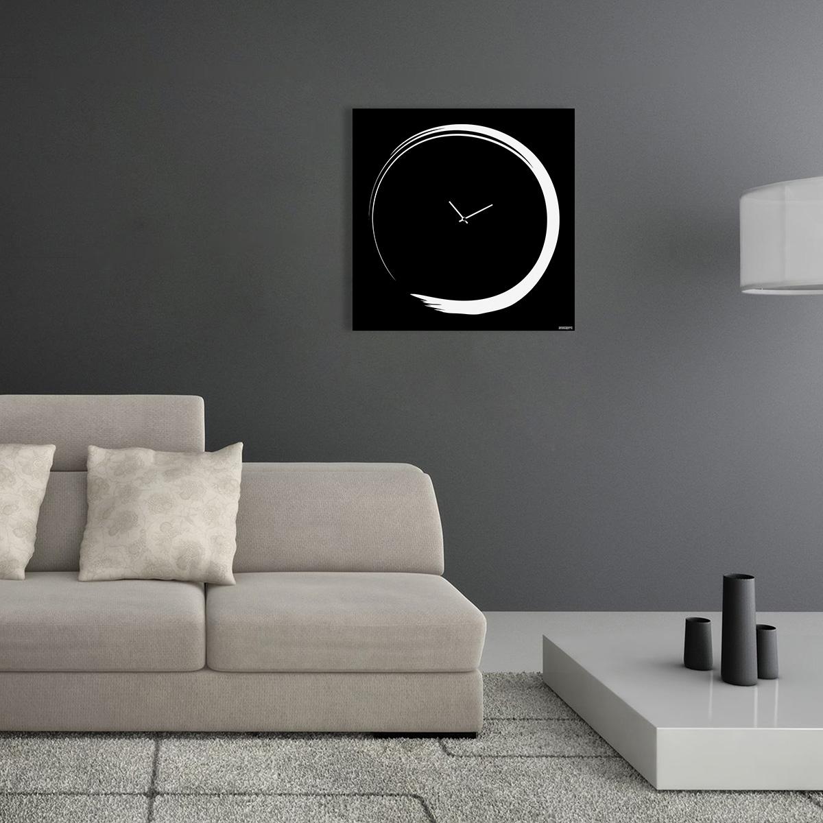 S Enso Modern Big Wall Clock Italian Design Designobject