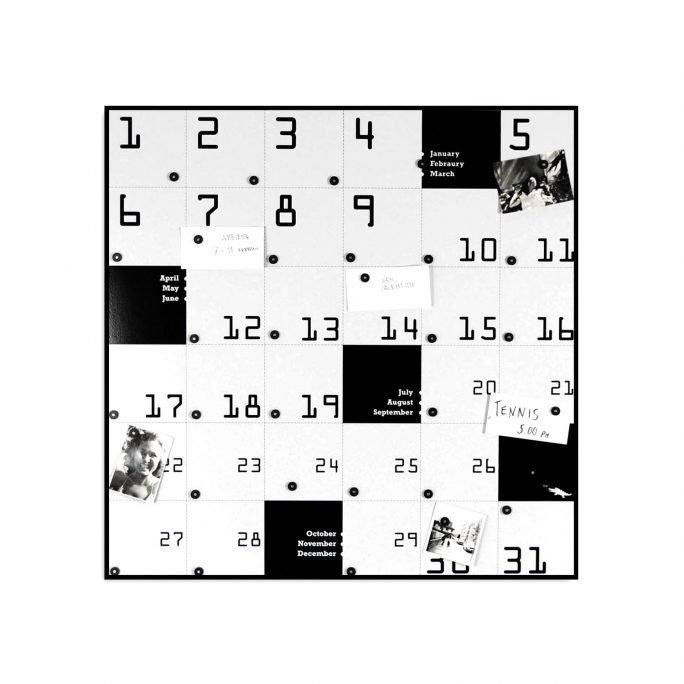 REMEMBER Lavagna Magnetica - Calendario Perpetuo di Design
