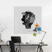 BRAINSTORMING Lavagna Magnetica Design - Organizer Ufficio