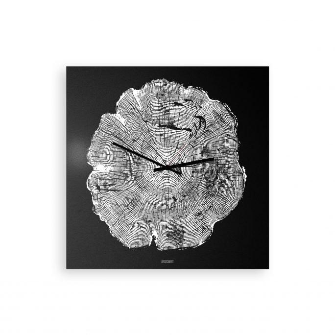Life: modern, big wall clock. Italian Design