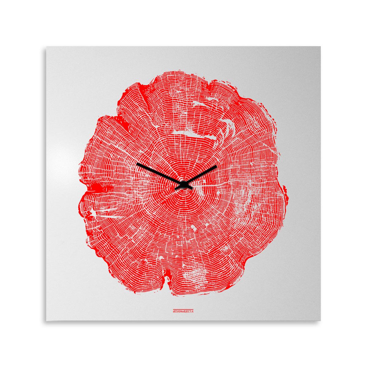 Life modern big wall clock italian design designobject - Orologio design parete ...