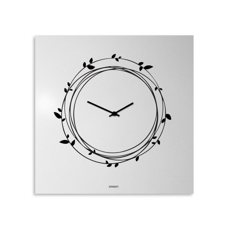 Nest: modern, big wall clock. Italian Design