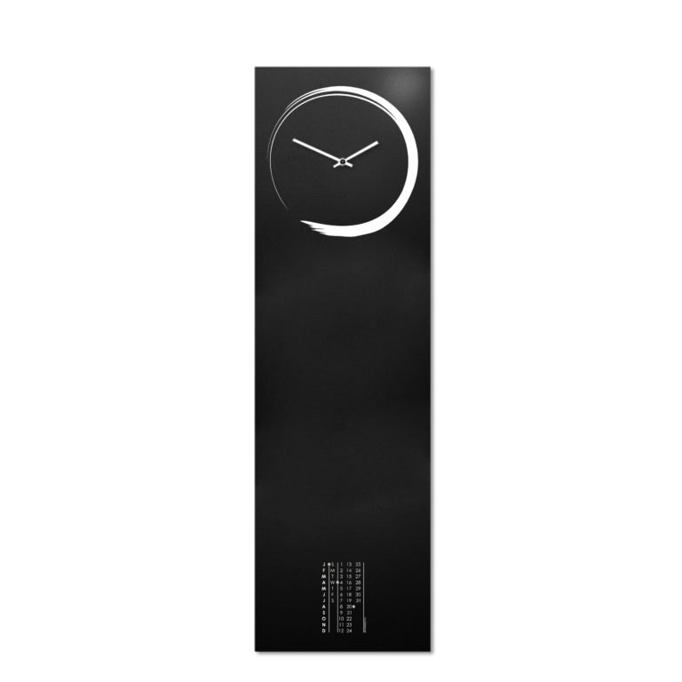 S-enso: modern, big wall clock. Italian Design