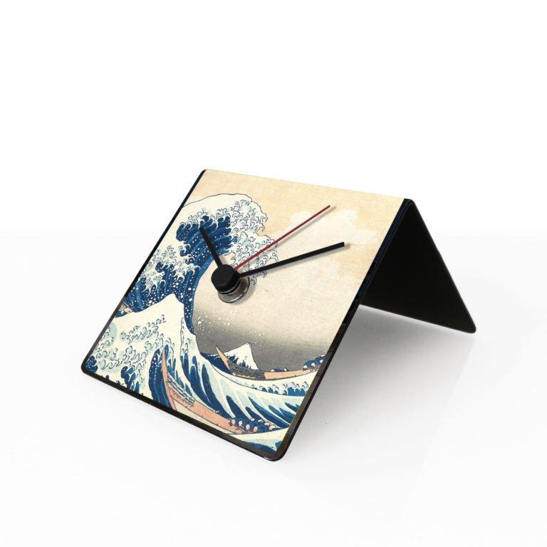 Hokusai Orologio da Scrivania Design
