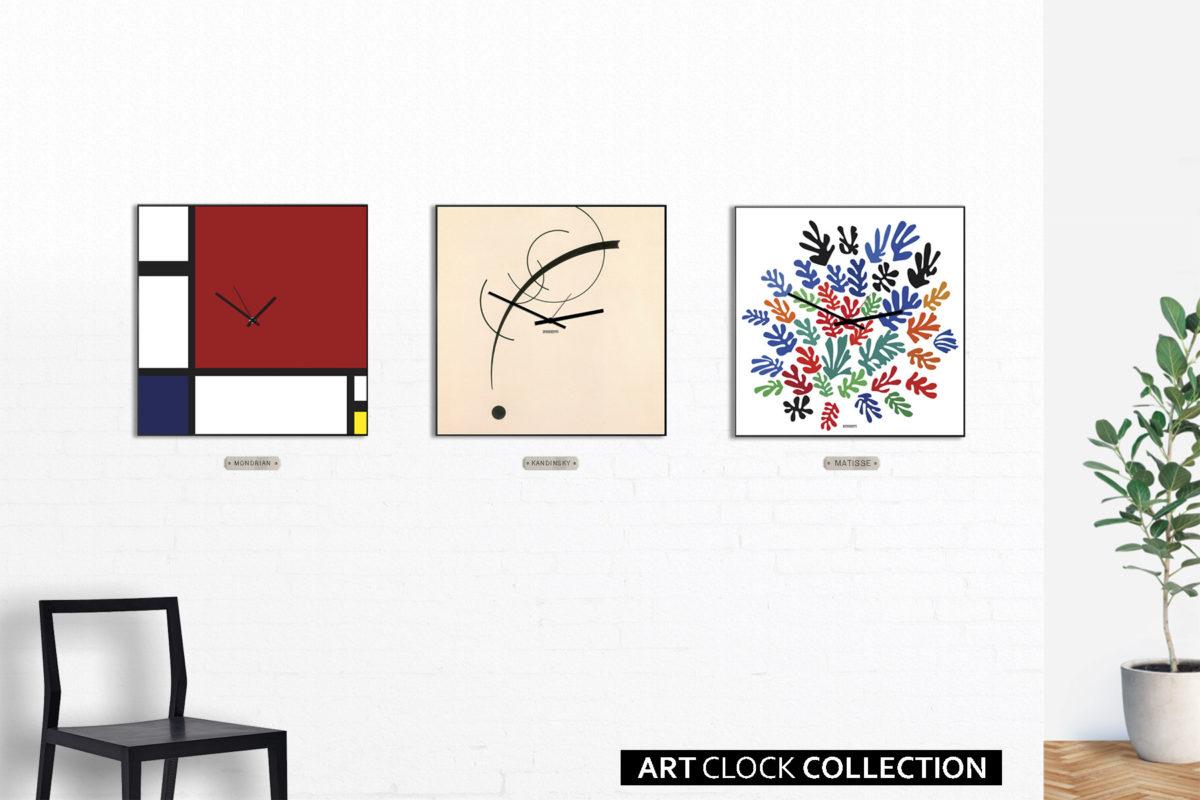 orologi arte moderna colorati grandi dimensioni designobject