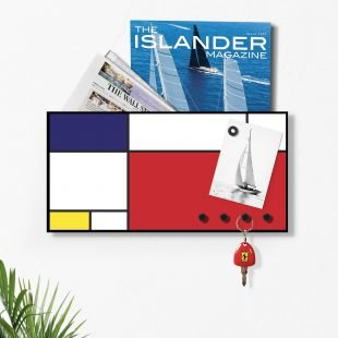 Mondrian Wall Organiser