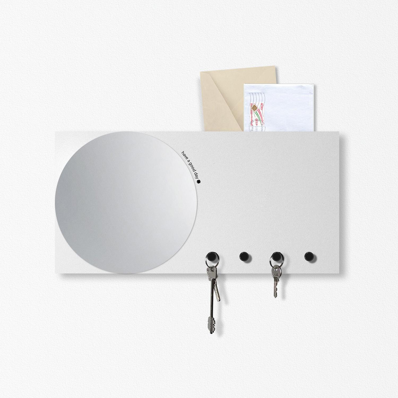 [:it]Specchio-Portachiavi [:en]Mirror Wall Organiser[:]