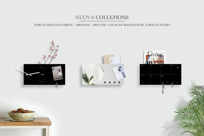 Wall Clocks, Magnetic boards and more. Italian Design.