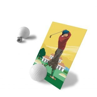 Golf Photo holder