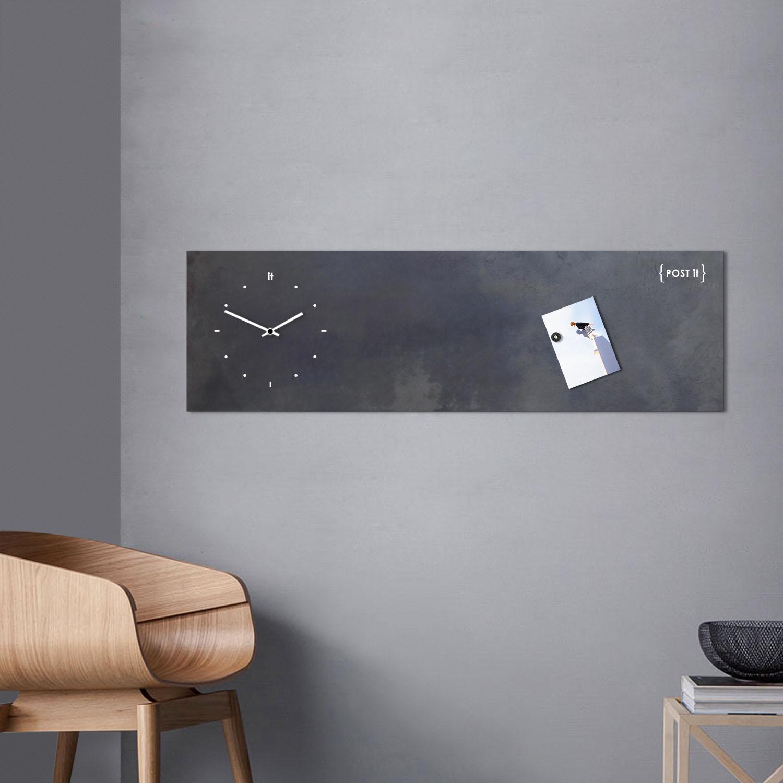 Lavagna Da Parete Cucina [:it]orologio - lavagna magnetica industrial[:en]industrial wall clock -  magnetic board[:]