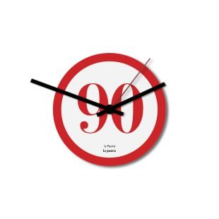 Tombola Wall Clock