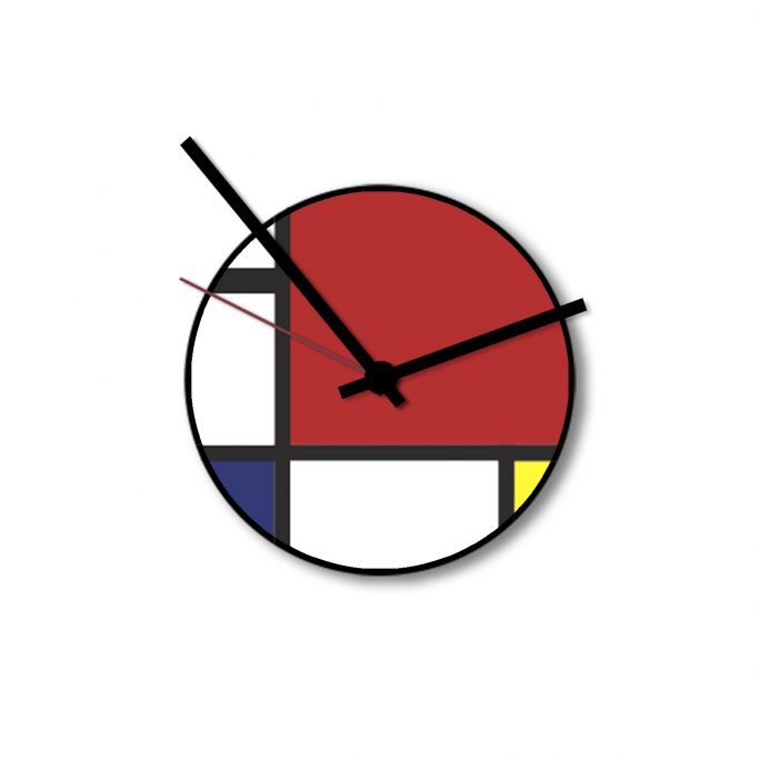 Little Clock Mondrian