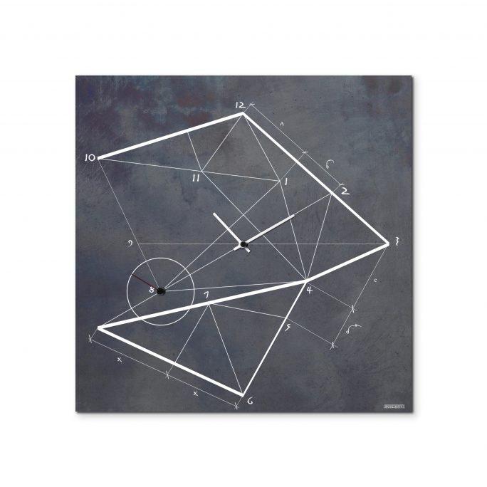 Orologio Geometrico Industrial