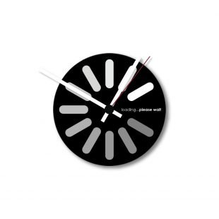 Loading Wall clock
