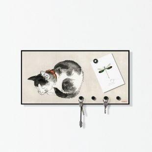 Wall Key Holder Cat